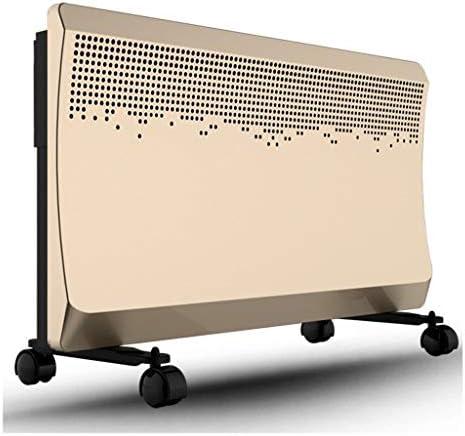 モバイル急速加熱ヒーターセラミック加熱、内蔵スマートチップ、リモートコントロール、2000ワット、220V、浴室ヒーター760 * 250 * 470ミリメートル (色 : Gold297)
