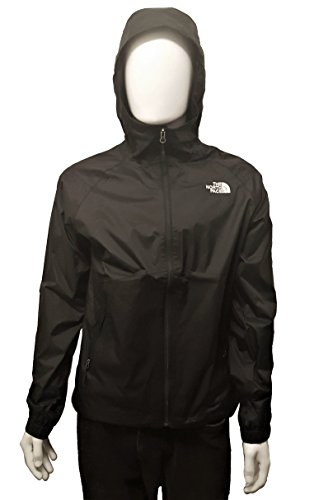 The North Face Men's Boreal Rain Jacket TNF Black (Large)