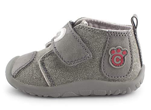 Labra Bébé Infantile Chaussons Gummi Cartoonimals Caoutchouc Grey Enfant Chaussures 0wTavvqH