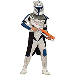 Rubies Star Wars Clone Wars Child's Captain Rex Costume, Medium