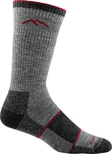 Darn Tough Men's Merino Wool Hiker Boot Sock Full Cushion Socks - Mens Charcoal Large