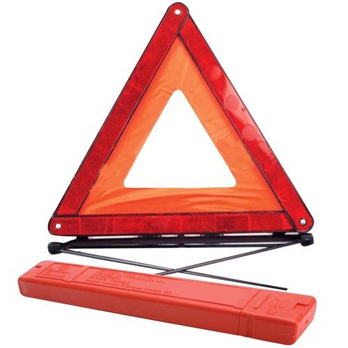 WARNING TRIANGLE EMERGENCY BREAKDOWN FOLDABLE SIGN HAZARD EU REFLECTIVE CAR NEW