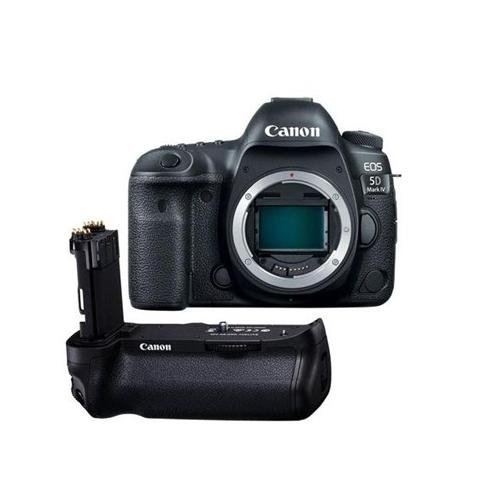 Canon EOS 5D Mark IV DSLR Body - With Canon BG-E20 Battery Grip (Best New Canon Dslr)