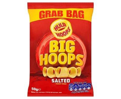 Hula Hoops Big Hoops Salted Potato Rings (50g x 36)