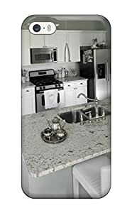 ElsieJM JPpeZzb3127AYXBM Case For Iphone 5/5s With Nice White Kitchen With Mint Green Walls Amp White Granite Countertops Appearance