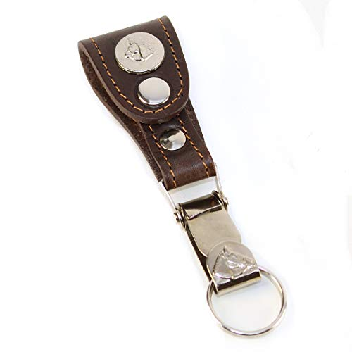 Keychain El Bolson by Unit Genuine Argentina leather sewn by hand. Easy fastening to any belt. Keychain Detachable