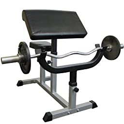 Valor Fitness CB-6 Adjustable Arm Curl Bench