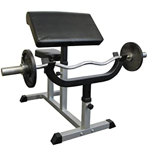 Valor Fitness CB 6 Adjustable Arm Curl Bench