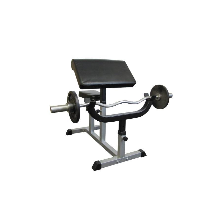 Valor Fitness CB 6 Adjustable Arm Curl Bench