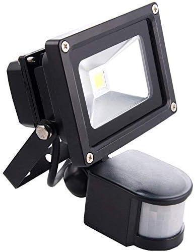 Sourcing4U X1-10w-FL-BL-C-PIR Reflector LED con sensor de ...