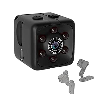 Flashandfocus.com 41r5U8fa2%2BL._SS300_ Mini Hidden Spy Camera Portable Small 1080P Wireless Cam with Night Vision and Motion Detection for Nanny/Housekeeper…