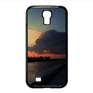 Sun Set Watercolor style Cover Samsung Galaxy S4 I9500 Case (Sun & Sky Watercolor style Cover Samsung Galaxy S4 I9500 Case)