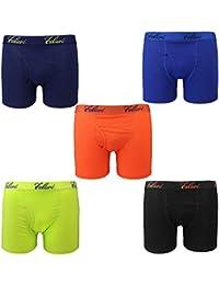 5-Pack Boy's Boxer Brief Underwear Cotton Ultimate ComfortSoft Premium Quality
