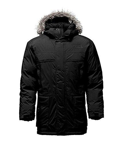 The North Face Fur Parka - The North Face Men's Mcmurdo Parka II Down Parka Jacket TNF Black (L)