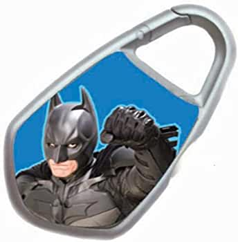 Amazon.com: Blue The Dark Knight Clipt. Mini llavero de ...