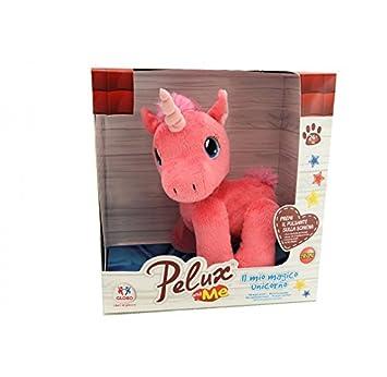 "Globo Juguetes 37904 ""Pelux"" Walking/música/cepillo – Unicornio De Peluche"
