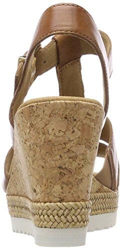 Alla Caviglia peanut Marrone Basic Sandali Gabor Con Cinturino Donna IXACwq