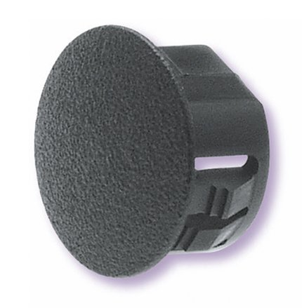 (Heyco 2509 DD-875-770 BLACK DOUBLE D HOLE PLUG (package of 250))