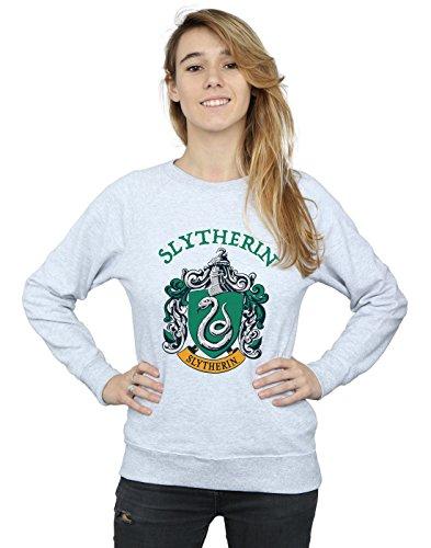 Crest Femme Grey Harry Slytherin Potter Sweat shirt Heather wTctaAqf