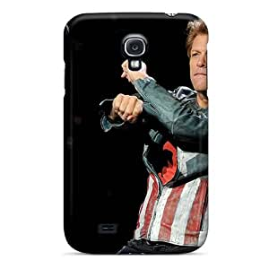 High Quality Hard Cell-phone Case For Samsung Galaxy S4 (gxw8639OEwk) Allow Personal Design Attractive Bon Jovi Band Image