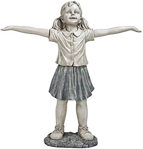 Design Toscano EU34080 Hope The Optimistic Gardener Child Statue