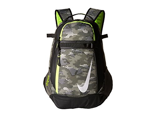 Nike Men's Vapor Select Graphic Baseball Bat Bag Backpack Tumbled Grey/Black - Bat Bag Nike