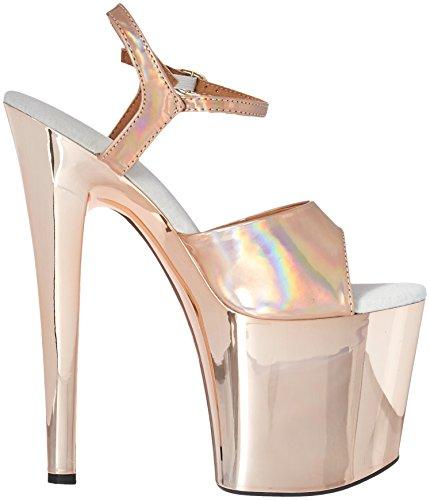 Shoes Delle 821 Oro Ellie bria Sandalo Tacco Donne wpzgR