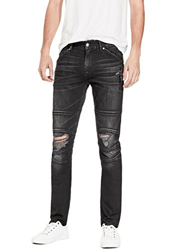 G by GUESS Men's Lyon Destroyed Skinny Jeans