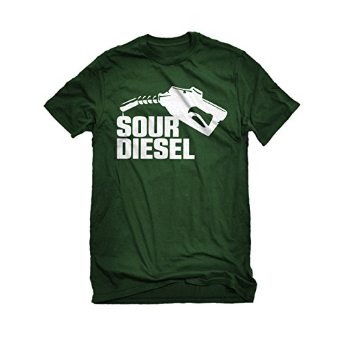 Tumble Leaf Costume (Mens Sour Diesel T-Shirt Forest Green X-Large)
