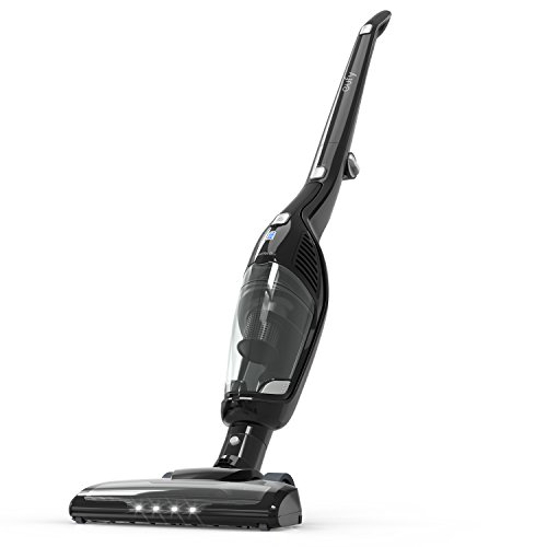Eufy HomeVac Duo 2-in-1 Cordless Vacuum Cleaner, Rechargeable Bagless Stick and Handheld Vacuum with Upright Charging Base – Black