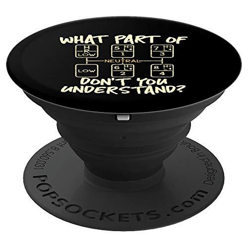 Funny Trucker Gearshift Truck Driver Gift -...