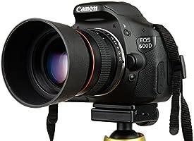 700D 6D 200D etc 550D T7i 60D 77D T6i 7D T5 T5i 600D T6 SL2 5D 80D Lightdow 85mm F//1.8 Medium Telephoto Portrait Prime Manual Focus Full Frame Lens for Canon EOS Rebel T7 70D 50D