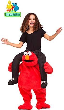 Barrio Sésamo Disfraz a Hombros de Elmo para niños: Amazon.es ...