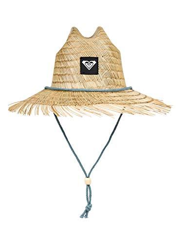 Roxy Womens Tomboy - Straw Lifeguard Hat - Women - M - Blue Trooper - Straw Ml Hat