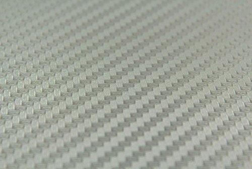 Dash Kit Decal Trim - Subaru Impreza 2002 2003 2004 - Carbon Fiber (Silver)
