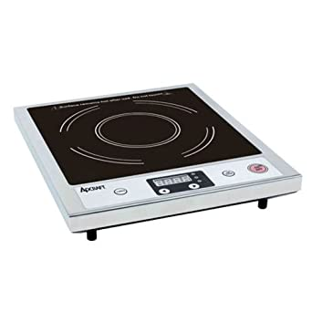Amazon.com: adcraft Countertop Cocina de inducción de acero ...