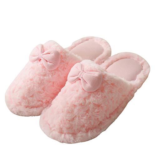 intérieure Slip Fille Rose Taille 36 de Femme Chaussons HUYP Hiver Coton Automne Fashion Pantoufles gnABxwz8qf