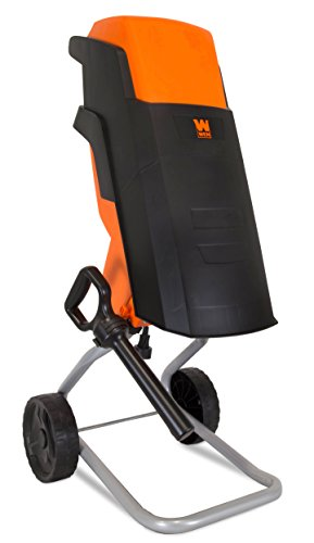 WEN 41121 15-Amp Rolling Electric Wood Chipper and Shredder