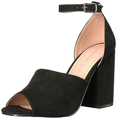 Madden Girl Women Clarah Dress Sandal Black Fabric