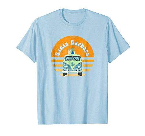 Barbara Van - Vintage Santa Barbara Hippie Van Beach Surfer T-Shirt
