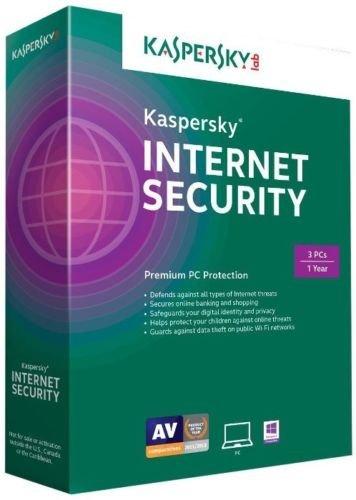 Kaspersky Internet Security 2015 3pcs Antivirus Brand New Retail Latest Version (Kaspersky Internet Security 2015)