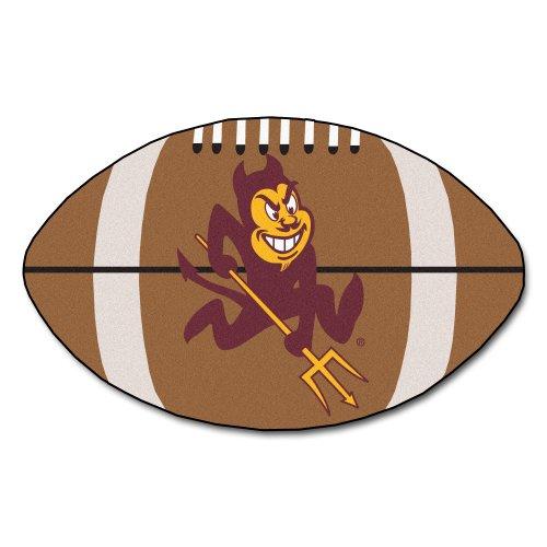 - FANMATS NCAA Arizona State University Sun Devils Nylon Face Football Rug