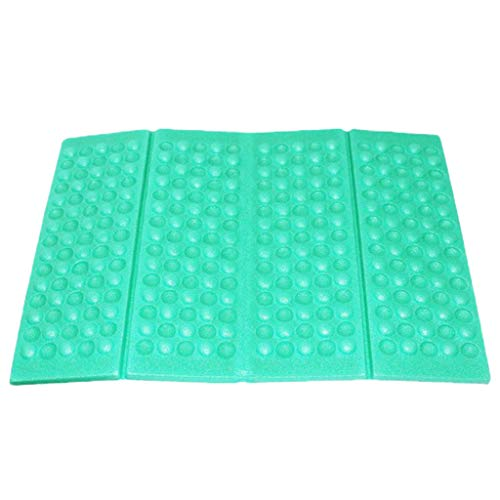 Fine Portable Lightweight Mini Waterproof Folding Mat, Foam Sitting Pad for Outdoor Activities, Foldable Seat Cushion for Comfort, Camping Backpacking Stadium Outdoor (Light Blue) (Seat Z Thermarest)