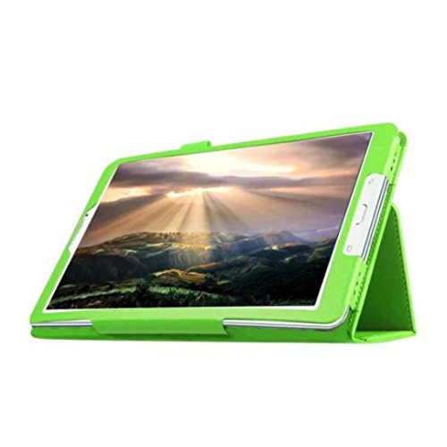 Sikye New Folio Case Cover Holder For Samsung Galaxy Tab A 7.0 7-inch Tablet T280/T285 (Green)