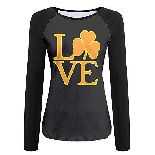 Women's Love Ireland Graphic Long-Sleeve Tee by LOGZDRll