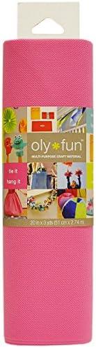 Fairfield OLY Fun Multi-Purpose 20-Inch Craft Material 3-Yard Bubble Gum