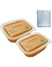 Parafina Para Manos y Pies Ideal Para Usar Con Aparato de Parafina Incluye Bolsas Desechables, Aroma De Melocotón