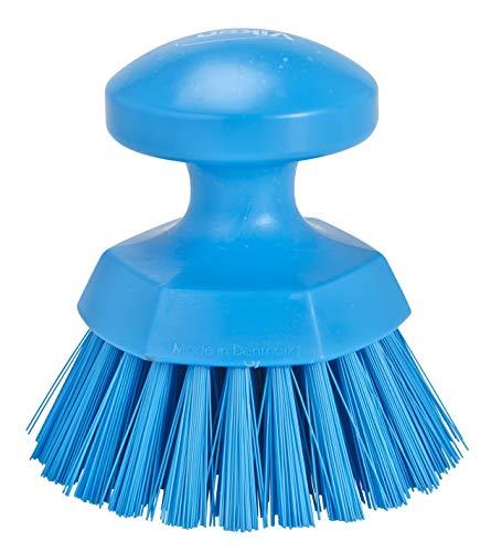 Round Scrub Brush, 5″L, Stiff
