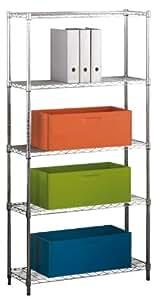 Kit Closet Stylo - Estantería metálica, 5 baldas