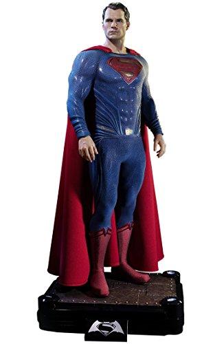 スーパーマン 「バットマン VS スーパーマン ジャスティスの誕生」 HDミュージアムマスターライン 1/2 ポリストーン製スタチュー